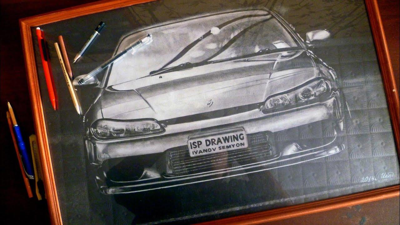 Paul Walker Nissan Silvia S15 Mona Lisa Drawing Isp Youtube 1920x1081