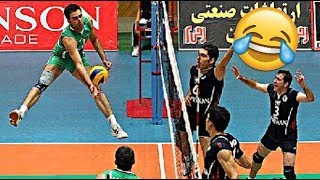 The Most Funniest Volleyball Points EVER !!! (HD)
