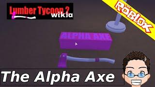 Roblox - Holz Tycoon 2 - Die Alpha-Axt