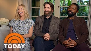charlize theron david oyelowo and sharlto copley talk about new films gringo today