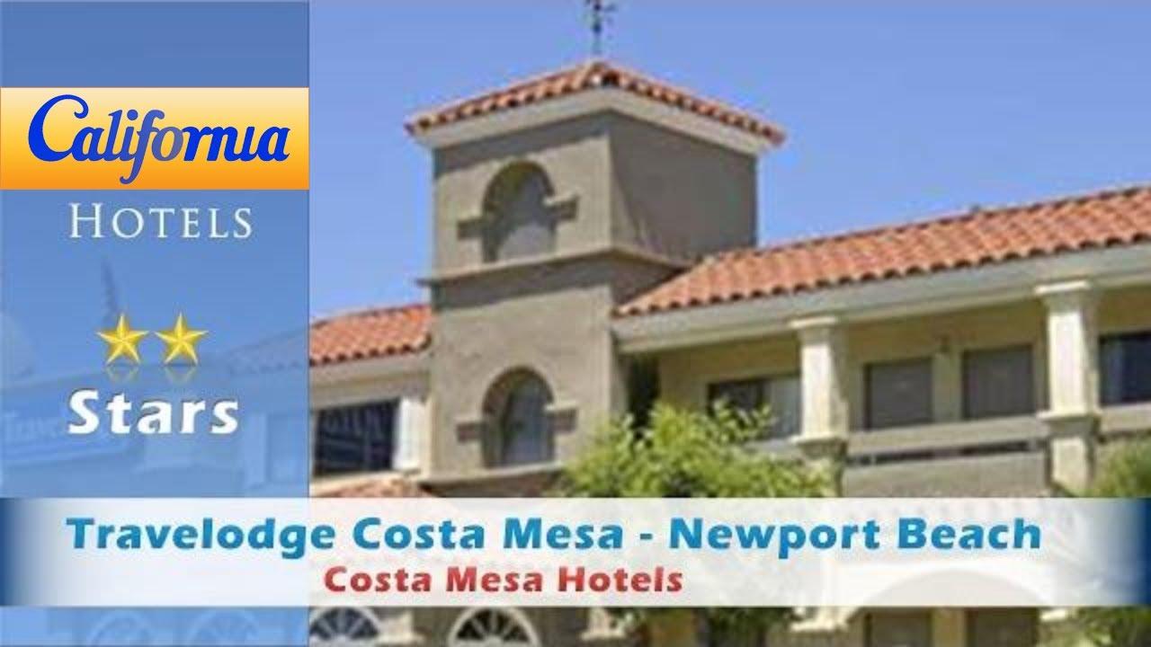 Travelodge Costa Mesa Newport Beach Hacienda Hotels California