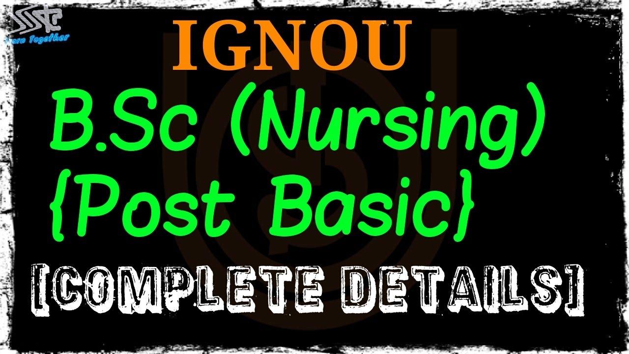 IGNOU BSC NURSING||ELIGIBILITY||COURSE FEE||COURSE DETAILS||