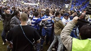 2005/06 Championship title triumph - a 5-0 win against Derby seals the deal!
