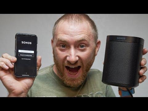Sonos One With Alexa Full Setup