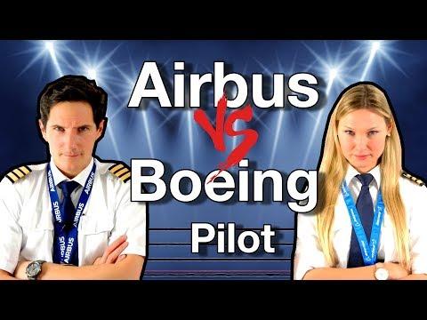 AIRBUS vs BOEING pilot / CAPTAIN JOE vs DUTCHPILOTGIRL