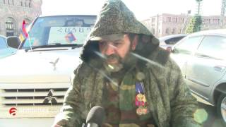 armtimes com/ ՀՀ ազգային հերոսի հորաքրոջ տղան հացադուլ է սկսել կառավարության դիմաց