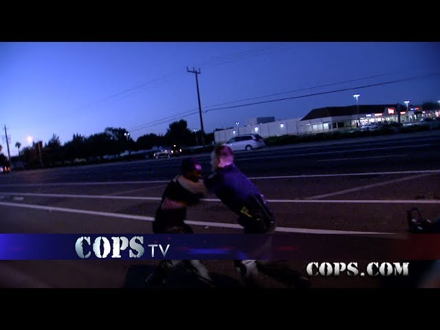 There He Goes, Officers Collier and Fox, COPS TV SHOW