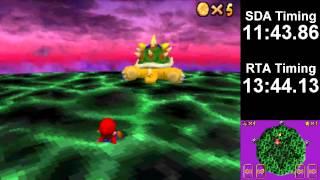 [WR] Super Mario 64 DS 1 Star Speedrun in 14:52