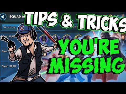 SWGOH Tips & Tricks You