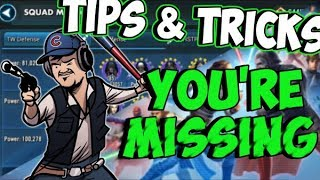 SWGOH Tips & Tricks You're Probably Missing! | Star Wars: Galaxy of Heroes
