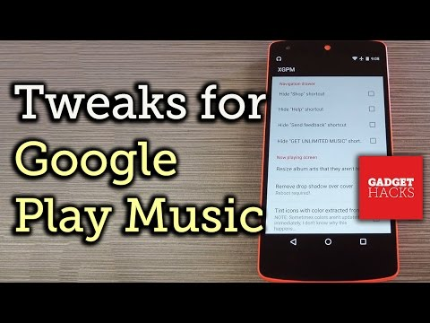 Tweak Google Play Music's Interface on Android [How-To]