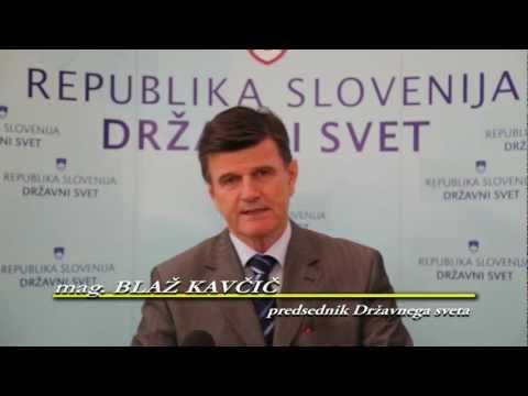 Mag. Blaž Kavčič - izjava o 44. seji DRŽAVNEGA SVETA (statistika, nakup avtomobila...)
