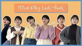 [Look Book] 157cm 63kg l 통통…