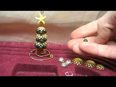 Lavoretti Di Natale Con Perline.Tutorial Alberello Di Natale Con Perline