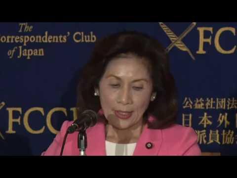 沖縄ヘリパッド移設 反対する伊波洋一、糸数慶子議員らが会見(2016年9月14日)