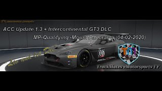 ACC Update 1 3 + Intercontinental GT3 DLC