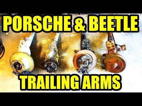 Porsche 924/944 & VW Beetle Trailing Arm Compare