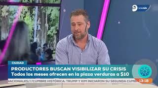 Diego Montón y Alejandro Zlotolow sobre la situación de los productores