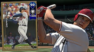 99 OVERALL HARDWARE CHIPPER JONES! IS THIS THE TEAM TO GO 12-0! - MLB The Show 17 Diamond Dynasty