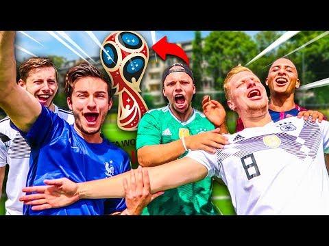 Ultimative YOUTUBER WM Fußball Challenge !
