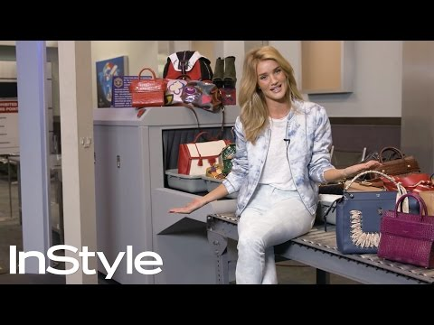 How To Master Airport Style With Rosie Huntington-Whiteley | InStyle