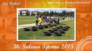Salana Ijtema 2015 - Atfal-ul-Ahmadiyya Deutschland - Promo Hindernislauf
