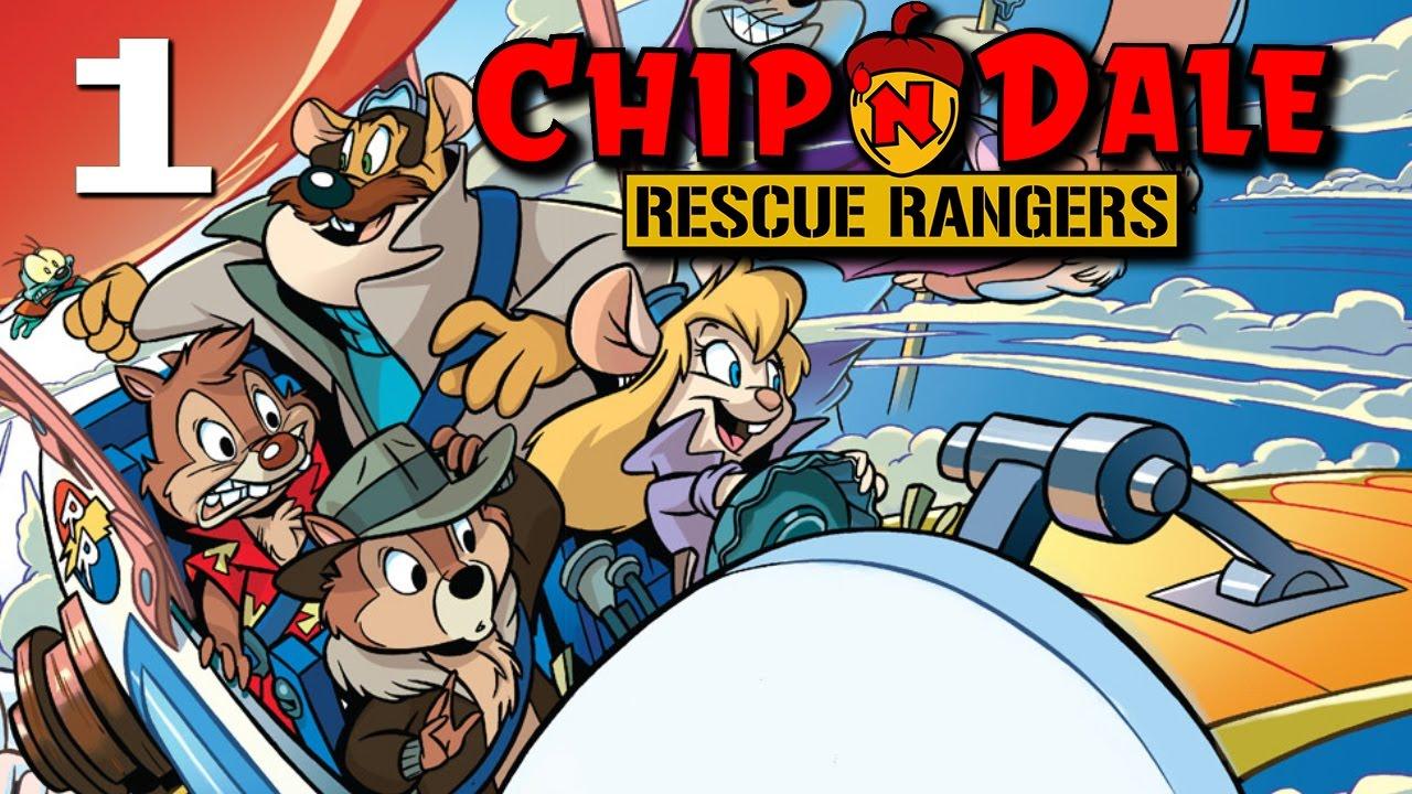 Chip N Dale Rescue Rangers NES Part 1