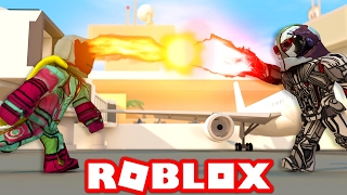 VISION VS ULTRON IN ROBLOX! (Roblox Avengers: Age of Ultron)