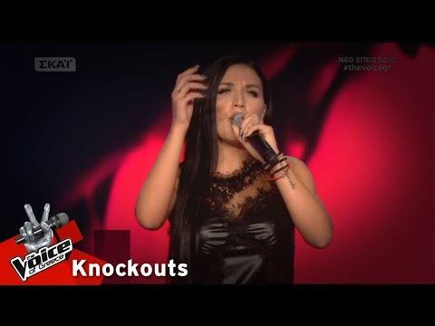 Ιουλία Καλλιμάνη - Και ξαφνικά | 3o Knockout | The Voice of Greece