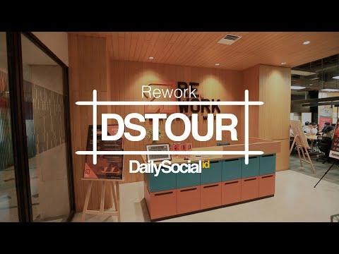 Menikmati Desain Modern Coworking Space Rework | DStour #26