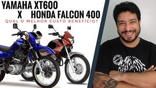 Yamaha XT600 versus Honda Falcon 400. Qual o melhor custo benefício?