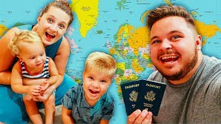 TRAVELING THE WORLD WITH KIDS! ✈️ Where to next?!