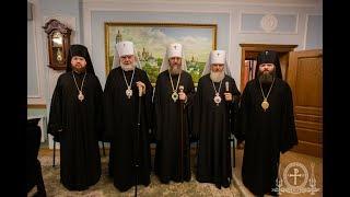 КИРОВОГРАД. День Ангела правящего архиерея митрополита Иоасафа.