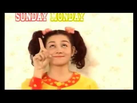 曜日 の 歌 英語