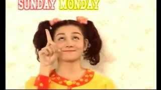 Sunday Monday Tuesday 曜日の歌 子供向け 英語の歌