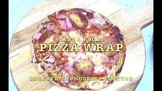 Ninja Foodi Wrap Pizza Cheekyricho Cooking Youtube Video Recipe ep.1,484