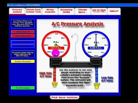 Automotive HVAC Pressure Diagnostics