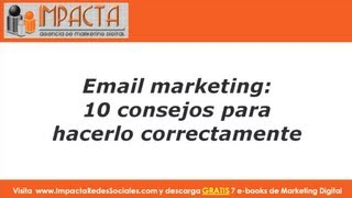Como hacer email marketing