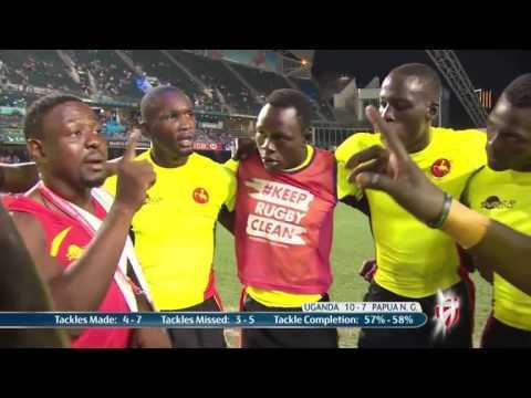 Uganda vs Papua New Guinea at the Hong Kong 7s Qualifiers.