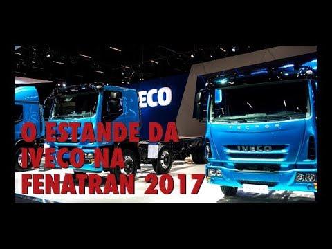 O estande da Iveco na FENATRAN 2017