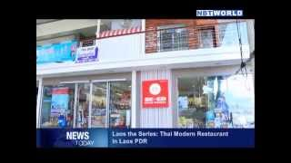 Laos the Series: Thai Modern Restaurant in Lao PDR