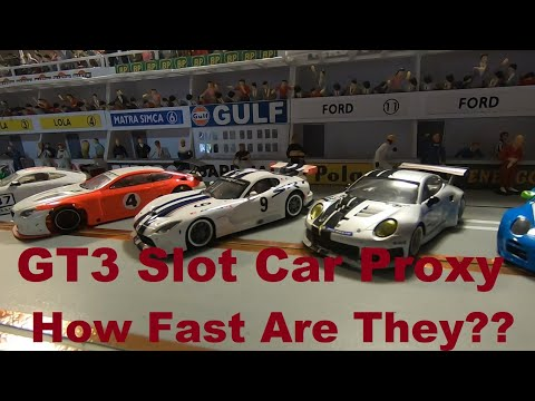 GT3 Slot Car Proxy Round 0 – 2021