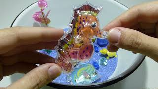 Игрушки для детей. Создаем свое озеро с рыбками и сказочным подводным миром