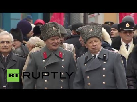 Russia: Communist Party marks 98th anniversary of Red Army inception
