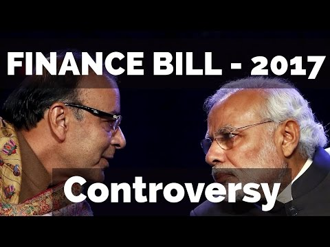 (HINDI) Finance Bill 2017 Controversy Analysis [Political Funding, AADHAR]