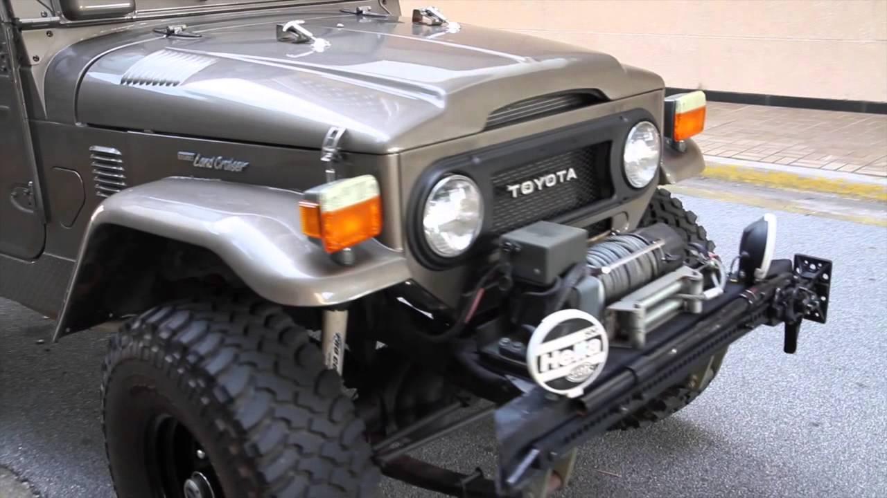 Amazing 1978 Toyota Land Cruiser FJ40 For Sale   YouTube