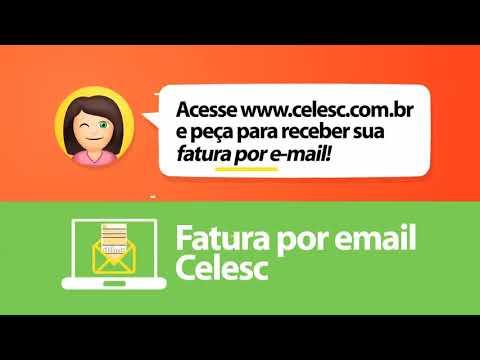 Celesc + Fácil - Receba sua fatura por e-mail