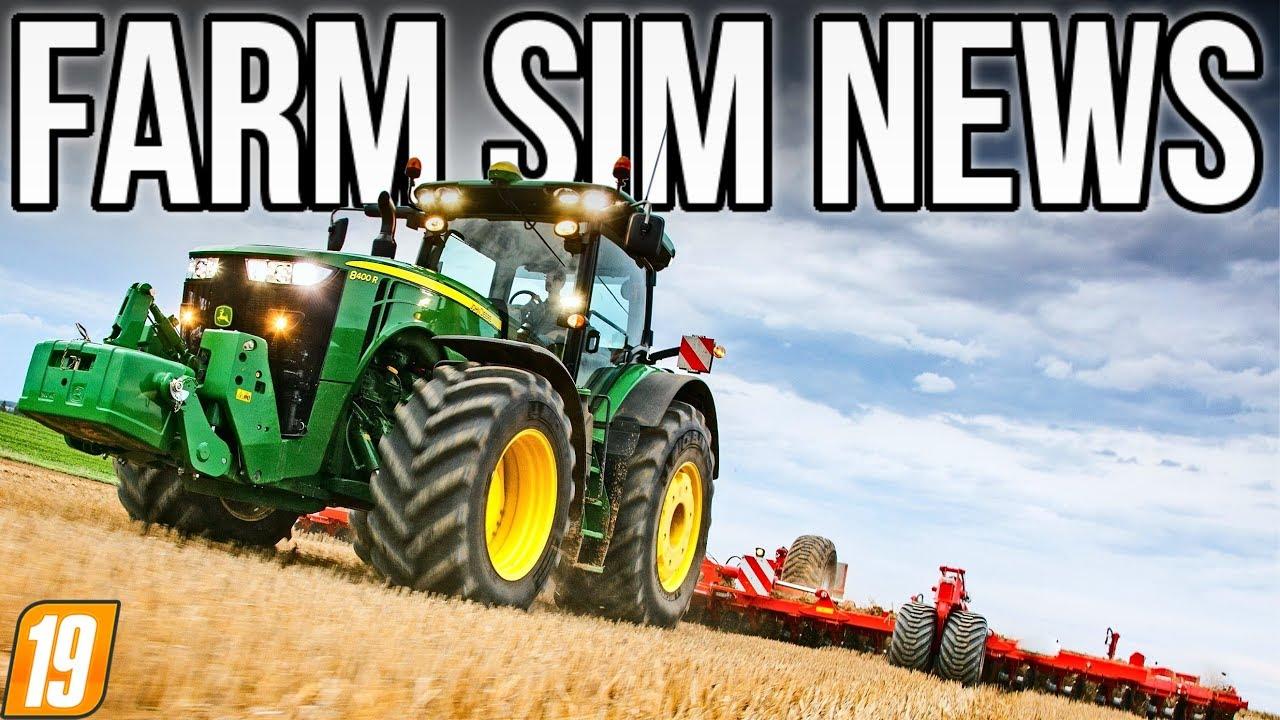 6 11 MB] FARM SIM NEWS! | John Deere 8R Mod In Testing For