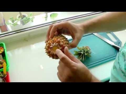Как правильно посадить ананас в домашних условиях видео