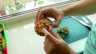 Укоренение и выращивание ананаса в домашних условиях (обновлено)(Как укоренить и вырастить ананас в домашних условиях. Это видео поможет вам укоренить ананас дома различны..., 2015-05-13T17:00:12.000Z)